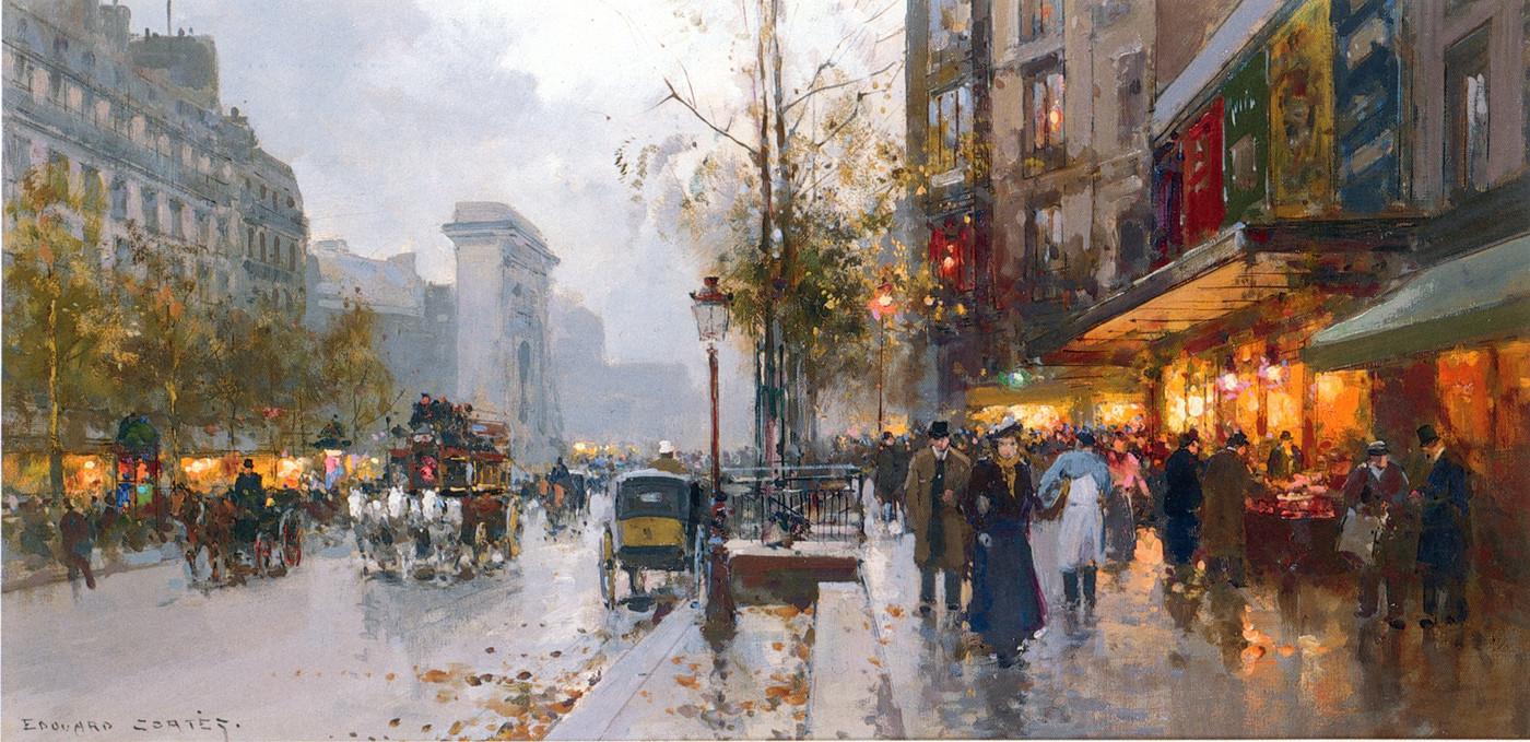 Cortes Edouard Boulevard Bonne Nouvelle Paris